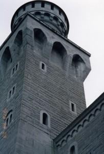 ノイシュバンシュタイン城の塔