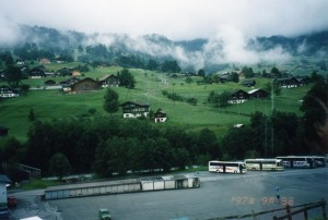 ミュンヘン近郊の田園風景
