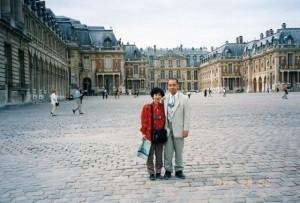 ベルサイユ宮殿で