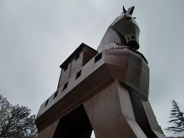 トロイの木馬(模擬象)